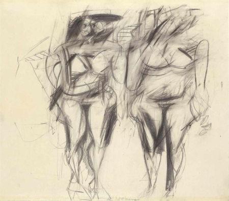 Willem de Kooning-Two Women-1951