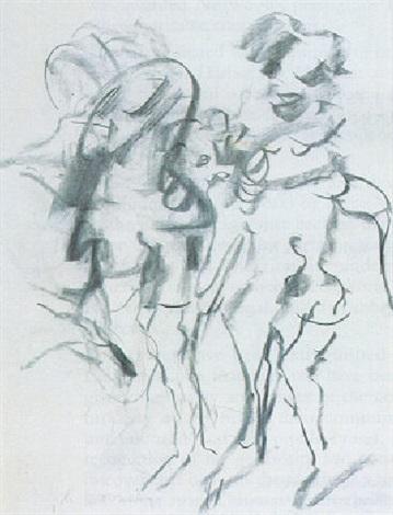 Willem de Kooning-Two Women-1969