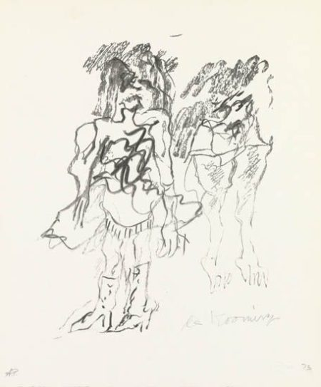 Willem de Kooning-Two Women-1973