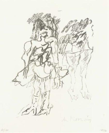 Willem de Kooning-Two Women-1973