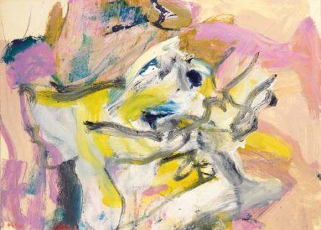Willem de Kooning-Untitled 18-1977