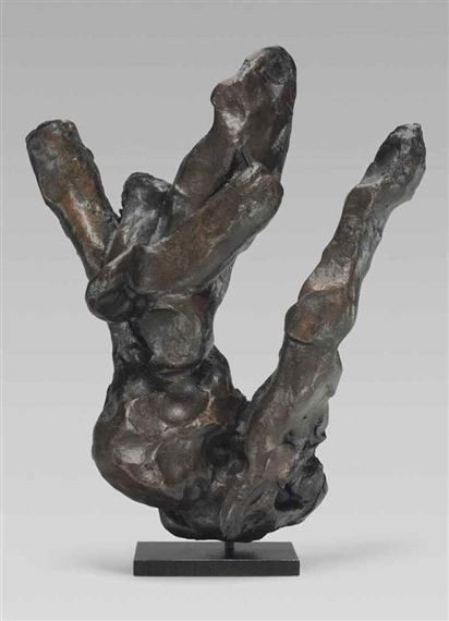 Willem de Kooning-Untitled #8-1969
