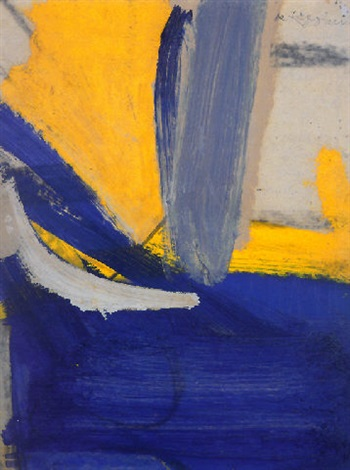 Willem de Kooning-Untitled #9-1958