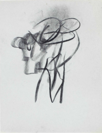 Willem de Kooning-Untitled (Abstract Drawing)-
