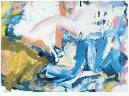 Willem de Kooning-Untitled (Abstract Lithograph)-