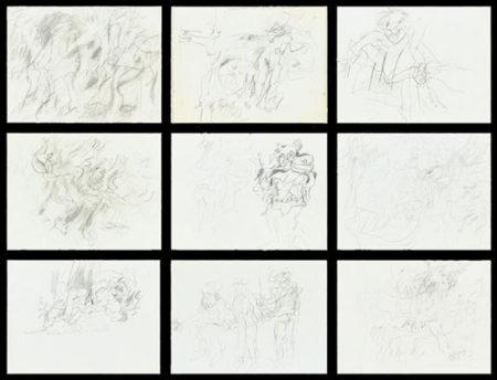 Willem de Kooning-Untitled (Artist's Sketch Book)-1975