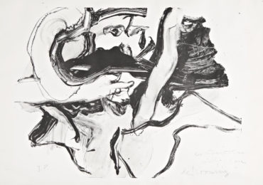 Willem de Kooning-Untitled (Bather I)-1971