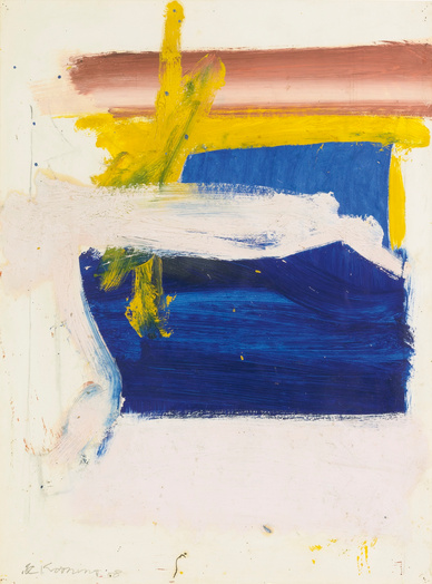 Willem de Kooning-Untitled (Blue Profundity)-1958