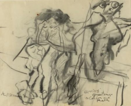 Willem de Kooning-Untitled (Clamdigger Series)-1965
