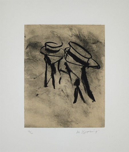 Untitled (From Seventeen Lithographs for Frank O'Hara)-1988