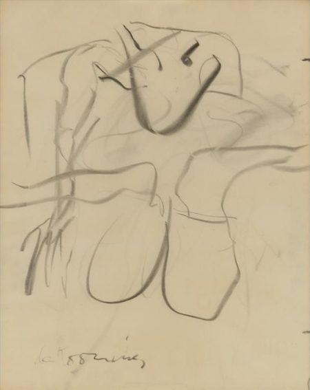 Willem de Kooning-Untitled (Legs)-1970