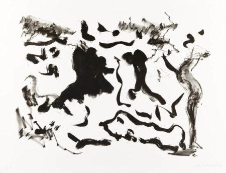 Willem de Kooning-Untitled (Lithograph on Somerset Satin)-1975