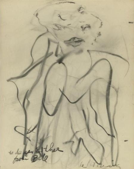 Willem de Kooning-Untitled, Marilyn Monroe Series-1960