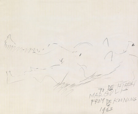 Willem de Kooning-Untitled (Reclining Nude)-1960