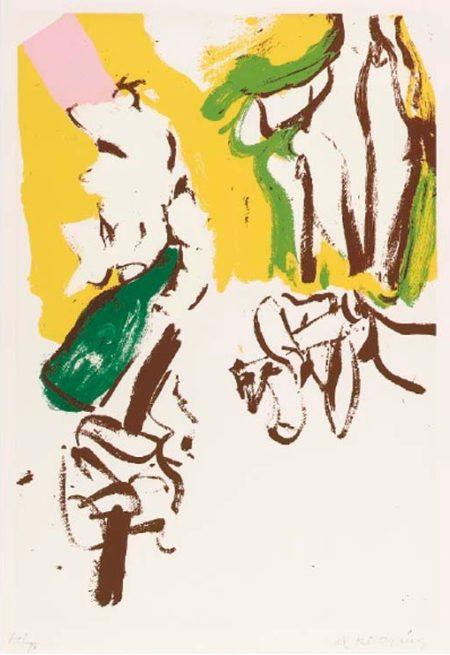 Untitled (Screenprint in Colors)-1972