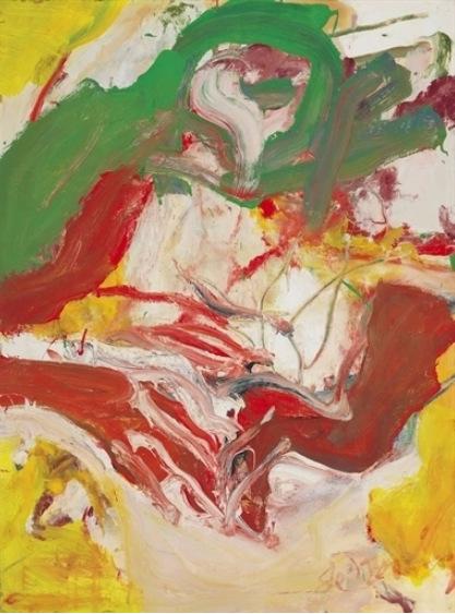 Willem de Kooning-Untitled (The Commuter)-1972