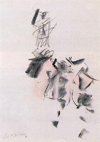Willem de Kooning-Untitled (Three Women)-1963