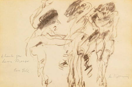 Willem de Kooning-Untitled (Three Women, 'Thank you, Dear Margo')-1968
