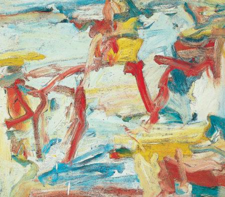 Willem de Kooning-Untitled V-1978