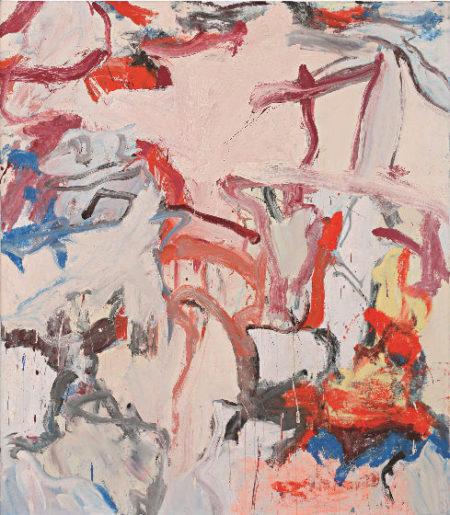 Willem de Kooning-Untitled VI-1975