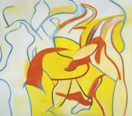Willem de Kooning-Untitled VII-1986