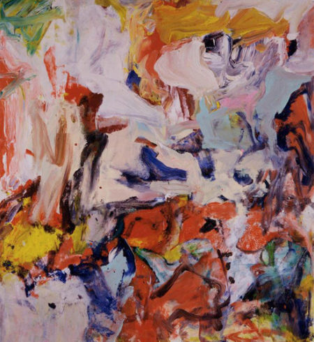 Willem de Kooning-Untitled VIII-1976