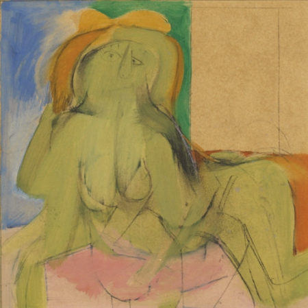 Willem de Kooning-Untitled (Woman)-1946
