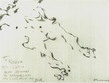Willem de Kooning-Untitled (Woman)-1964