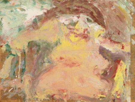 Willem de Kooning-Untitled (Woman)-1967