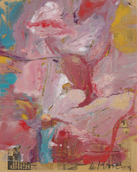Willem de Kooning-Untitled (Woman)-1974