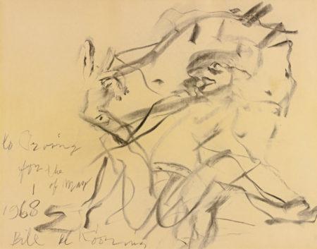 Willem de Kooning-Untitled (Woman Seating)-1968