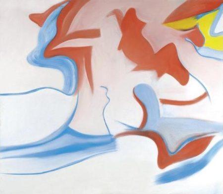 Willem de Kooning-Untitled XIV-1983
