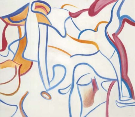 Willem de Kooning-Untitled XXI-1985