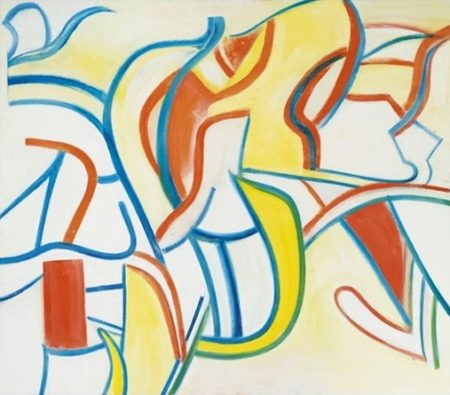 Willem de Kooning-Untitled XXI-1986