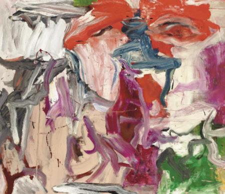 Willem de Kooning-Untitled XXIII-1977