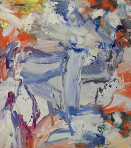 Willem de Kooning-Untitled XXX-1977