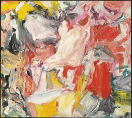 Willem de Kooning-Untitled XXXI-1977