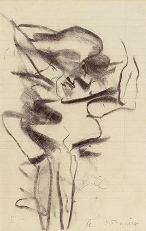 Willem de Kooning-Woman-1966