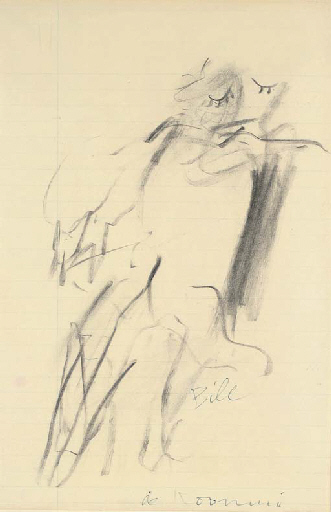 Willem de Kooning-Woman-1966