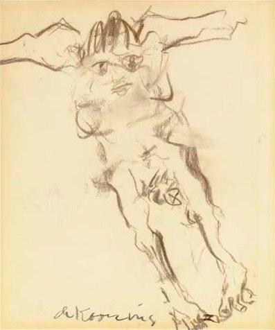 Willem de Kooning-Woman-1967