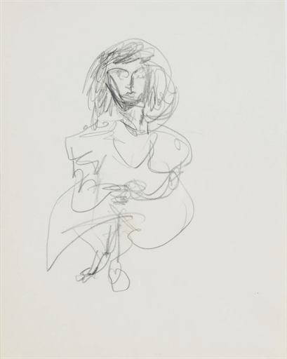Willem de Kooning-Woman-1975