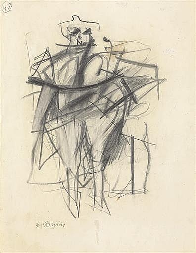 Willem de Kooning-Woman (40)-1953