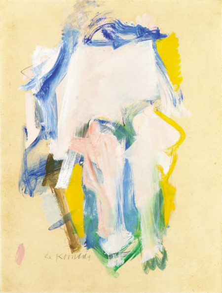 Willem de Kooning-Woman III-1961