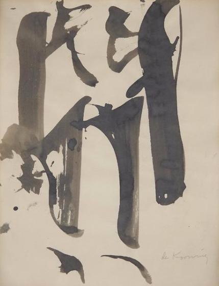 Willem de Kooning-Woman Study-1959