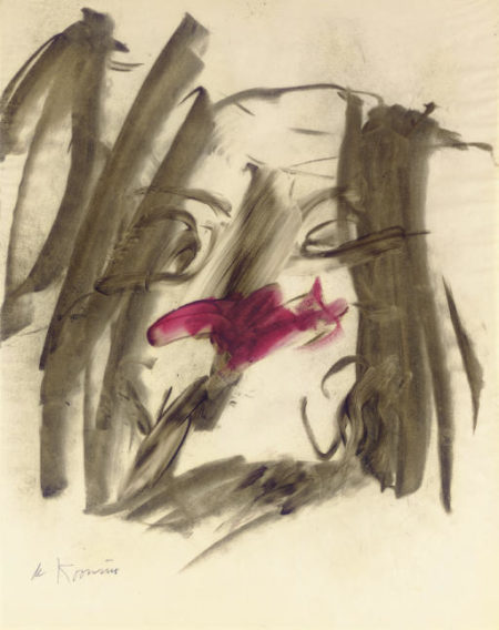 Willem de Kooning-Woman Study-1964