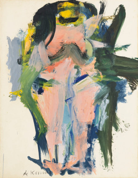Willem de Kooning-Woman VII-1961