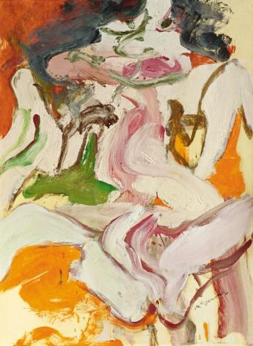 Willem de Kooning-Woman as Landscape-1966