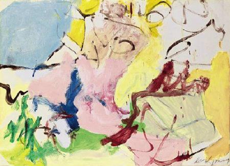 Willem de Kooning-Woman in Landscape-1968