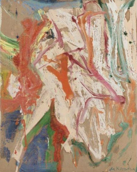 Willem de Kooning-Woman in a Landscape-1967