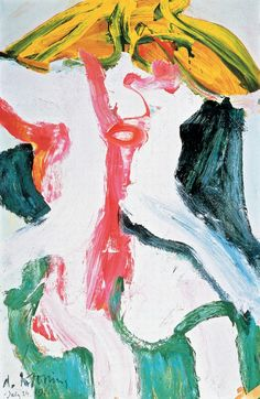 Willem de Kooning-Woman with Yellow Hair-1968